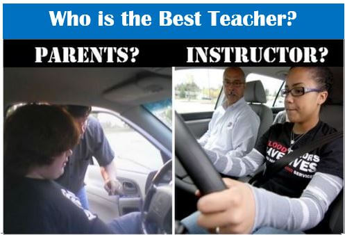 Learning to drive: Who is the Best Driving Teacher: Parents or Instructor?